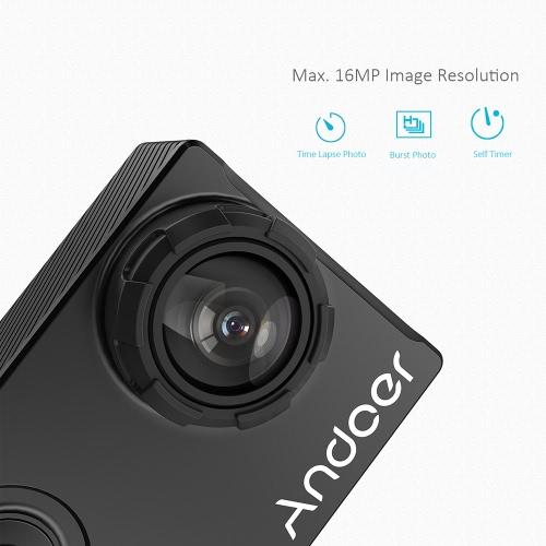 Andoer AN7000 Full HD 16MP WiFi Anti-shake Waterproof Diving 60m 2.0 LCD Sports DV Camera