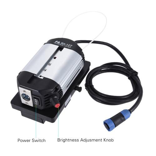 FalconEyes RX-12T 34W 423pcs Koraliki LED Slim Wypełnij Składany rolkach Roll-up 5600K LED aparat fotograficzny lampa wideo Studio Filmów dla fotografowania Portret