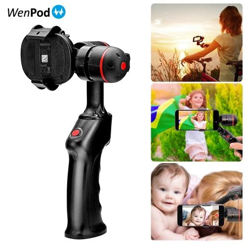 Uchwyt WenPod SP1 Handheld bezszczotkowy 2-osiowy stabilizator żyroskopowy Gimbal Smartphone dla iPhone 7 / 7plus / 6plus / 6 dla Samsung Smartphone Huawei