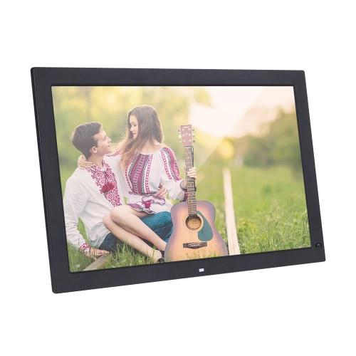 Cadre photo numérique numérique à écran large de 18,5 po