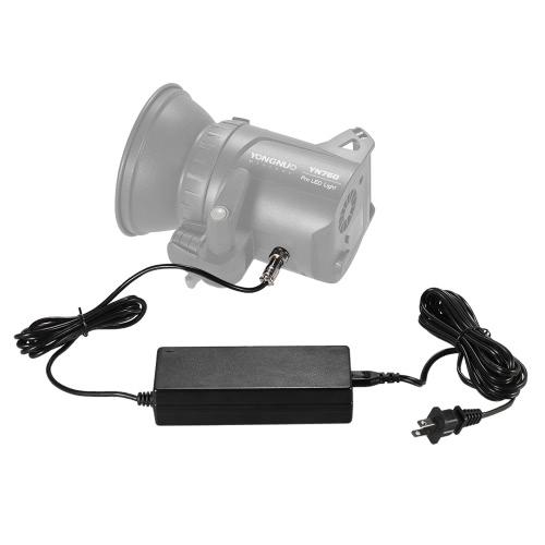 YONGNUO Standardowy adapter adapter zasilający z wtyczką amerykańską szeroki zakres napięcia 100-240V dla YONGNUO YN760 serii LED Lampa wideo