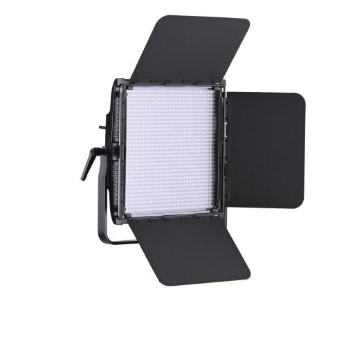 Tolifo GK-1024B PRO 30W 1024pcs CRI95 + LED Light Lamp Video Bi-couleur 3200 ~ 5600K Dimmable w / 2.4G Télécommande / Barn Door / Filtre DMX512 Connecteur pour Studio Photography
