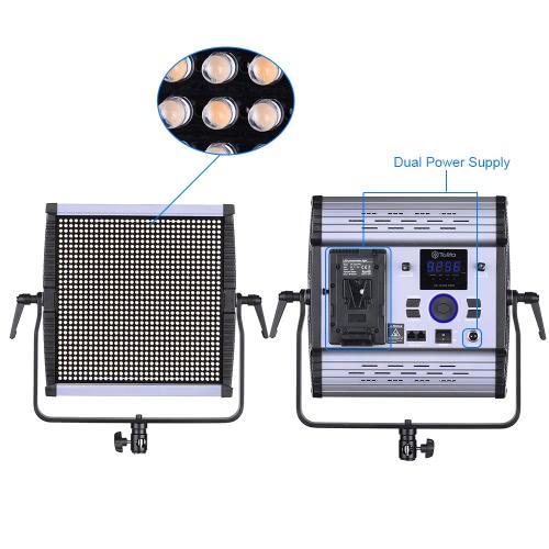 Tolifo GK-1024B PRO 1024pcs CRI95 + LED Video luz lámpara 30W