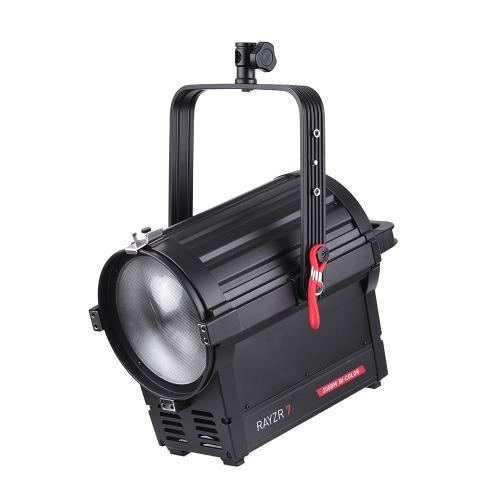 Vibesta Rayzr R7-200BM 200W Fotografia LED Fresnela ostrości Światło dzienne Lampa Reflektor Bi-Color 3200-5600K Ściemnialny dla Studio Wideo