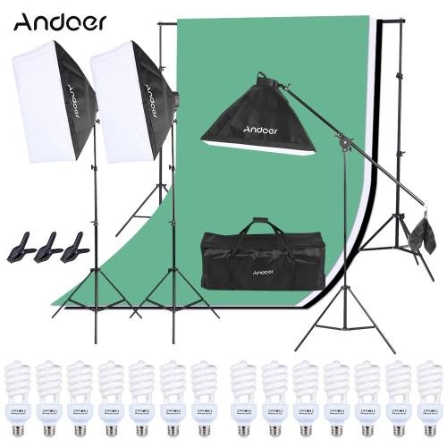 Zestaw oświetleniowy Andoer Photo Studio - US 120V