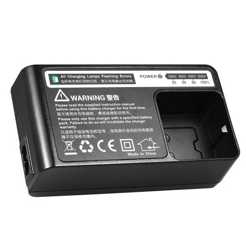 Ładowarka sieciowa z wyświetlaczem LED dla Godox AD200 Speedlite 100 ~ 240V, USA