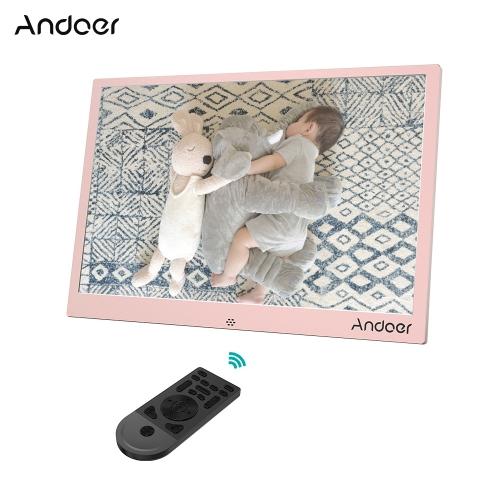 Andoer 13-calowa cyfrowa ramka na zdjęcia LED ze stopu aluminium