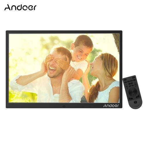 Andoer - Marco de la foto de Digitaces de la aleación de aluminio de 17inch LED