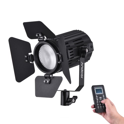 andoer ls-60d daylight 5600k color temperature dimmable led video light