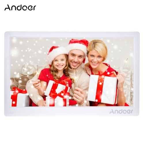 Andoer 17 cali 1920 * 1080 HD cyfrowa ramka na zdjęcia