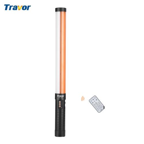 Luz de video portátil Handheld LED de Travor STL-900 Luz de tubo mágica de la barra ligera 3200K / 5600K CRI90 con batería de iones de litio NP-F550 y cargador de batería para iluminación fotográfica