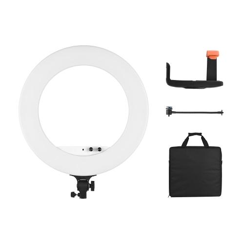 Andoer 18-calowa lampa LED do nagrywania wideo z pierścieniem świetlnym