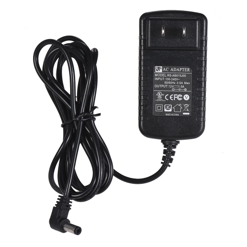 12V 1.5A AC Power Adapter