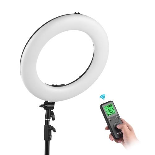 Lampe vidéo à anneau monochrome LED Viltrox VL-600B Professional 5600K