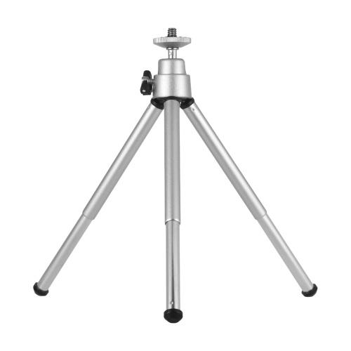 Mini Tripod 2-Section Extendable Desktop Tripod Stand Holder