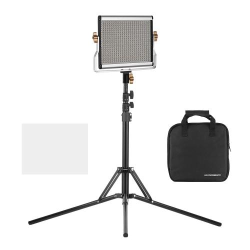 Andoer Portable Video Light Panel Lampe de remplissage