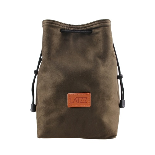 LATZZ DSLR Velvet Fleece Camera Dust proof Scratch proof Bag