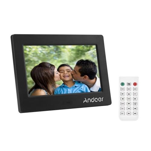 Andoer 7 pouces Cadre photo numérique LED