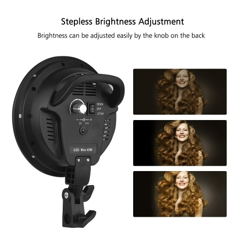 Andoer Studio Photography Softbox LED Light Kit
