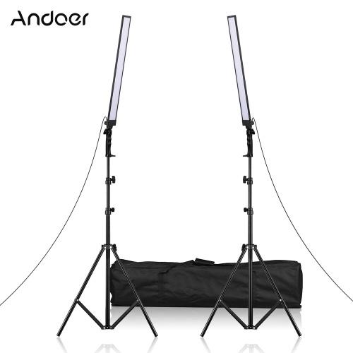 Andoer 81cm / 31.9in Handheld LED Beleuchtungsset