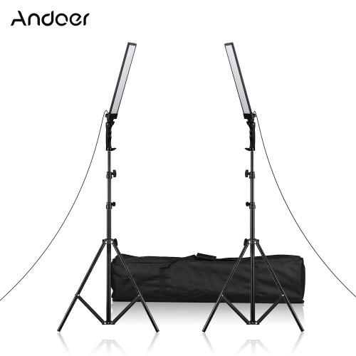 Andoer 60cm / 23.6in Handheld LED Beleuchtungsset
