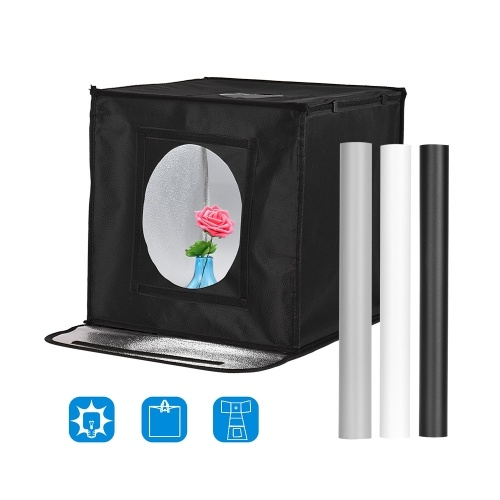 Tragbares faltbares Fotostudio-Schießzelt-Kit Fotobox