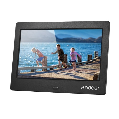 Andoer 7 Inch IPS HD Screen 1024*600 Digital Photo Frame