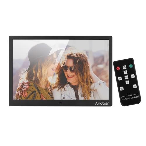 Andoer 15.4 Inch 1280 * 800 Resolution LED Digital Picture Photo Frame Photo Album