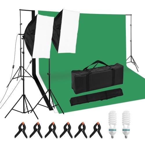 Kit d'éclairage de photographie de studio professionnel