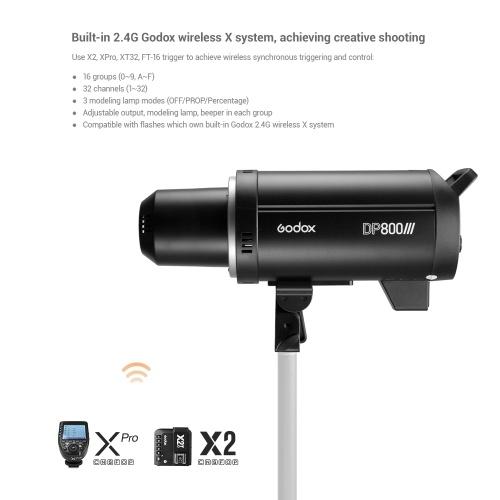 Godox DP800III Professional Studio Flash Light Strobe Lighting Lamp
