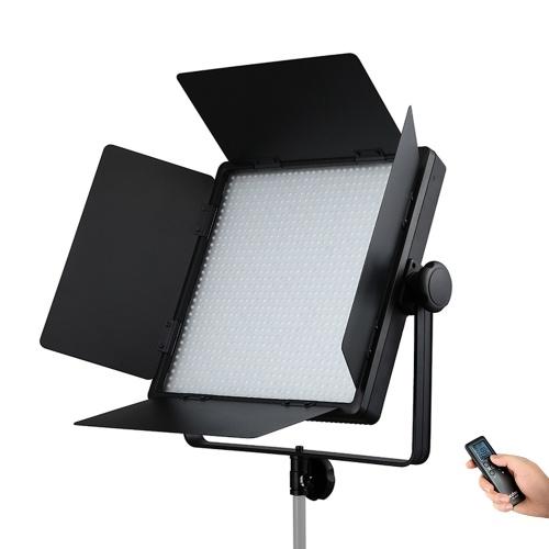Godox LED1000Bi II LED Video Light Dimmable Bi-color 3300-5600K Color Temperature 70W CRI96 TLCI98
