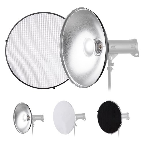 22 Inch Beauty Dish Studio Photography Reflector Diffuser