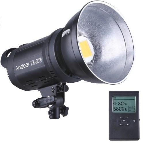 Andoer EX60III Studio Photography LED Flash Light Strobe Light