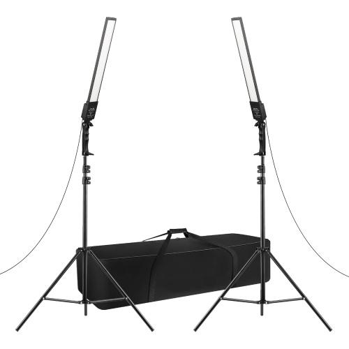 Kit di illuminazione a LED per studio fotografico professionale