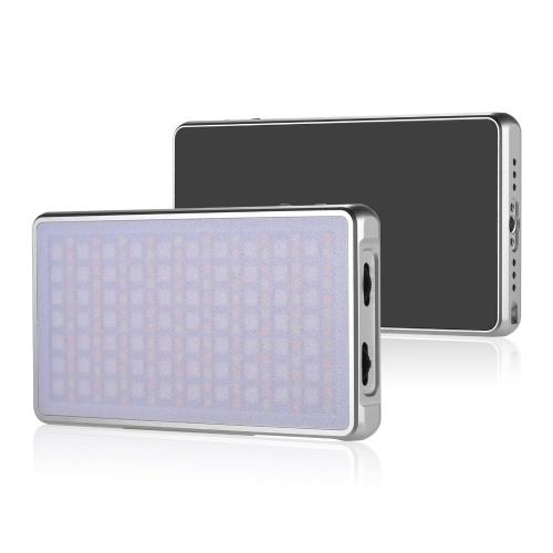 RGB LED-Videoleuchte Typ C 5000mAh Akku CRI 96+ Mehrfachbeleuchtungseffekt