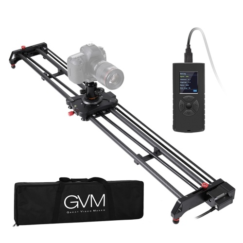 GVM GR-120QD 120cm caméra de photographie motorisée curseur piste Dolly stabilisateur vidéo