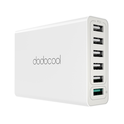Dodocool 58W 6-Port USB Desktop Charging Station Wall Charger Power фото