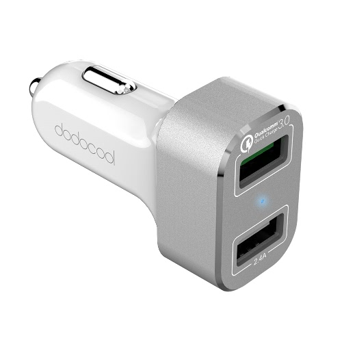 Dodocool 30W 2-Port USB Car Charger фото
