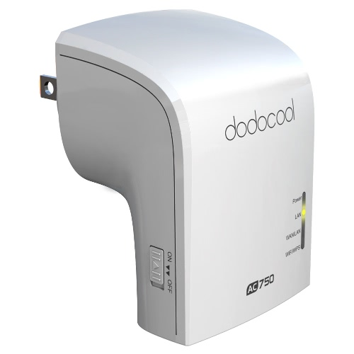 dodocool AC750 doble banda Wireless Wi-Fi AP / repetidor / Router simultánea