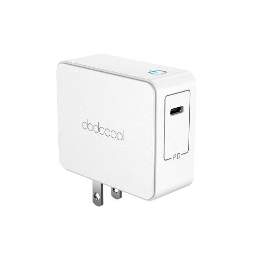 dodocool ETL Список 45W USB Type-C Настенное зарядное устройство Адаптер питания с подачей питания