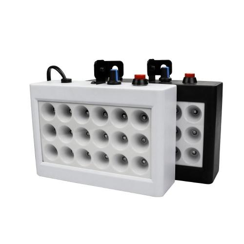 18 светодиодов 9 цветов Комната Strobe Light Box Диско Свет Звук Автоуправление Сцена Семейная вечеринка Свет Белый
