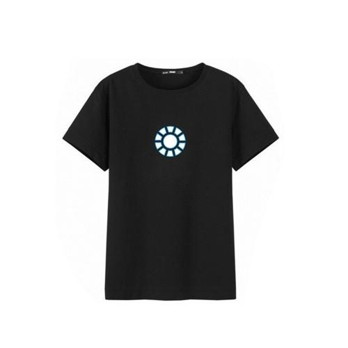 Camiseta Iron Man1 LED