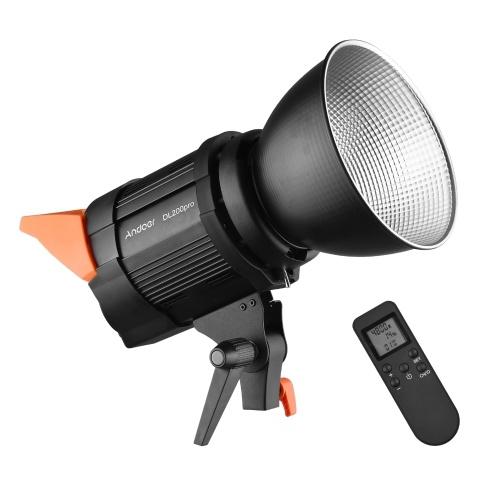 Andoer DL200pro Studio COB Светодиодный видео светильник для фотосъемки
