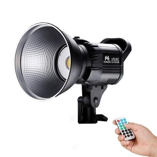 FalconEyes LPS-80T 80W Lampe vidéo LED Studio 5500K Lampe de photographie
