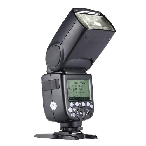 GODOX V860II-C E-TTL 1/8000S HSS maestro esclavo GN60 Flash Speedlite integrado 2.4G Wireless X con sistema 2000mAh batería recargable del Li-ion para Canon 1DX/5D Mark III / 5D Mark II/D 6 / 7D/D 60 / 50D/D 40 / 30D/D 650 / 600D