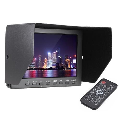 FR7769 HD professionnelle 7.0 » TFT-LCD IPS moniteur vidéo pour photographie Canon Nikon DSLR appareil photo