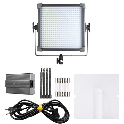 F ・ V K4000S はがきで 400 ビーズ LED スタジオ映画ビデオ光デュアル カラー 3200 K-5600 K 調節可能な色温度 CRI85 +