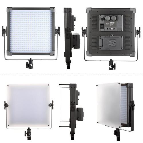 F & V K4000S 400pcs perlas LED Studio Film Video Light