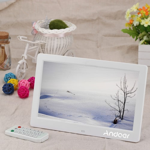 10,1-Zoll-HD Digital Foto Bild Frame MP3 MP4 Movie Player Fernbedienung