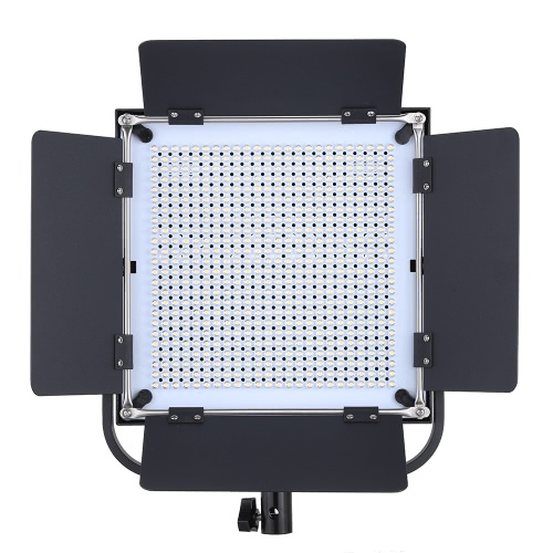 Adjustable Brightness 576pcs LED Beads CRI 90+ 4500LM 5600K/3200K Video Studio Photography Light Lamp for Canon Nikon Sony Camera Camcorder with Two Diffusion Filters